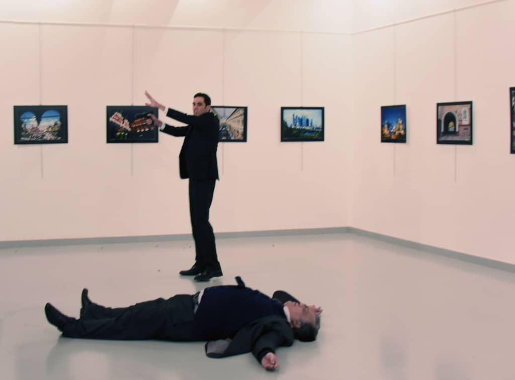 terrorism in turkey russian ambassador to turkey shot