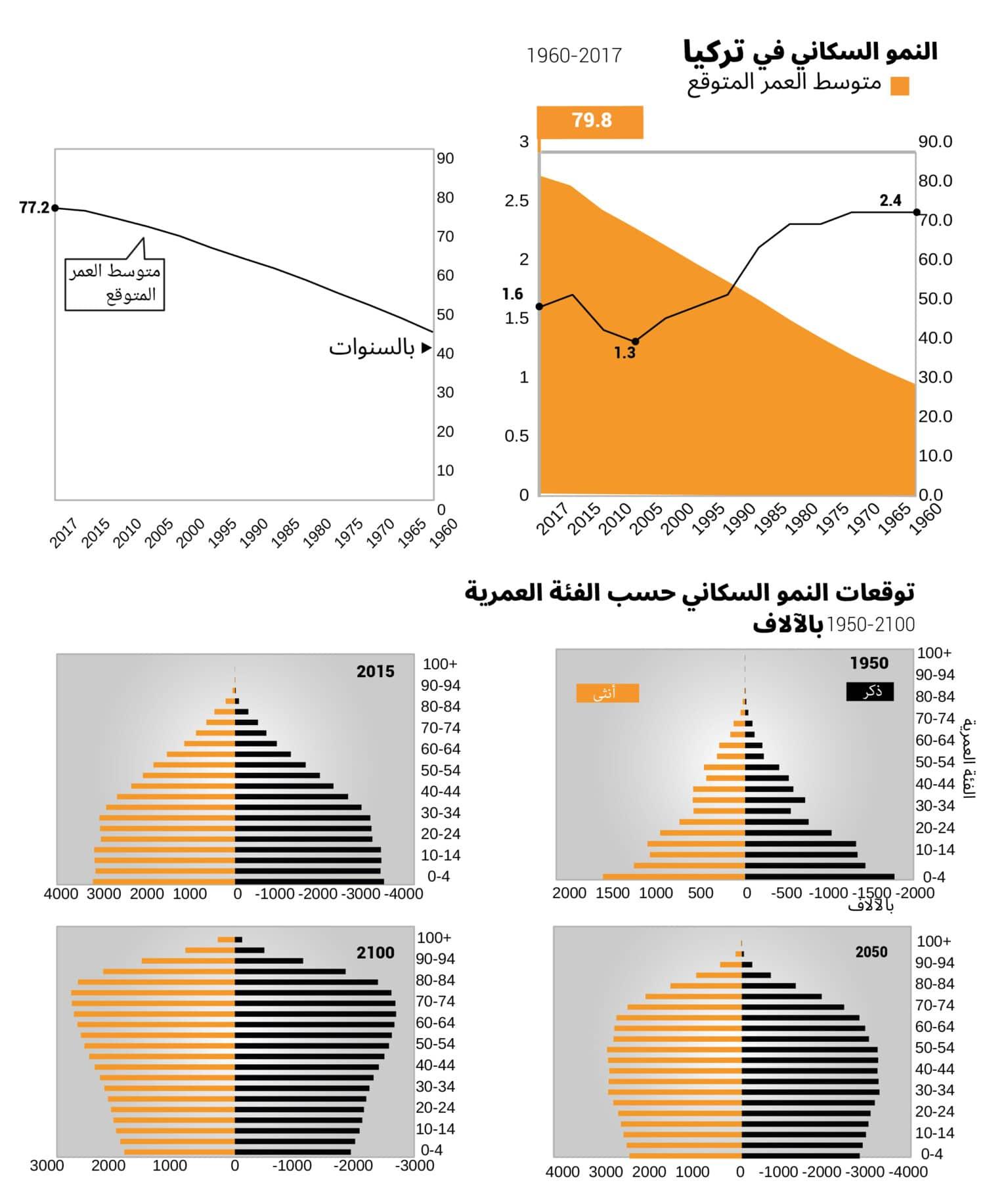 Turkey population growth